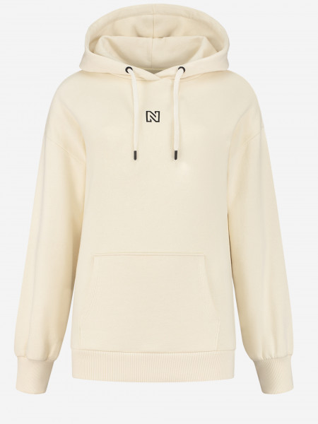 Hoodie with maze artwork