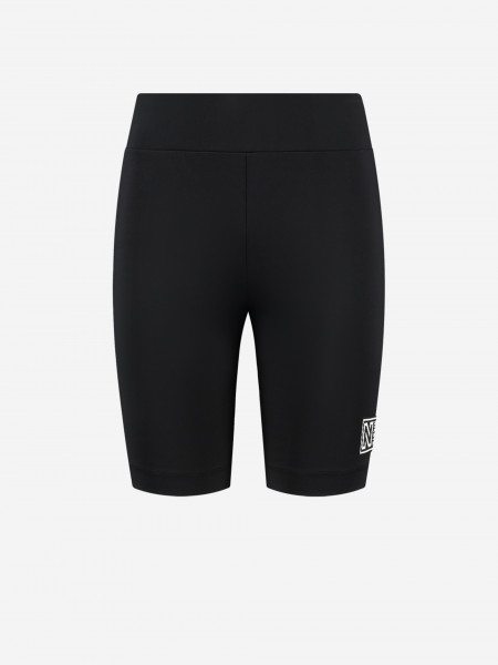 High-rise biker shorts