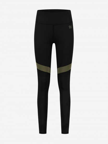 Sport Tights With Stripes