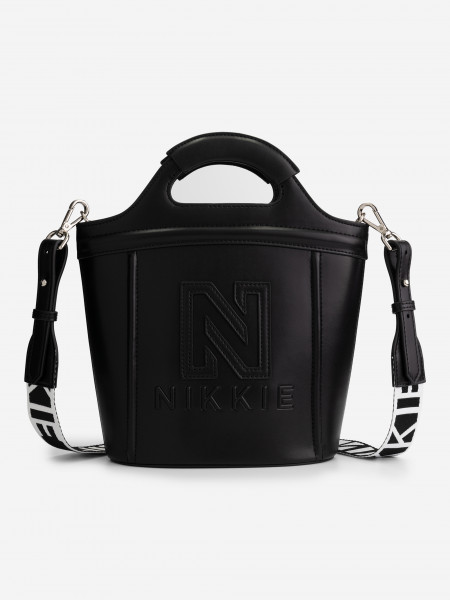 Bucket bag with strap