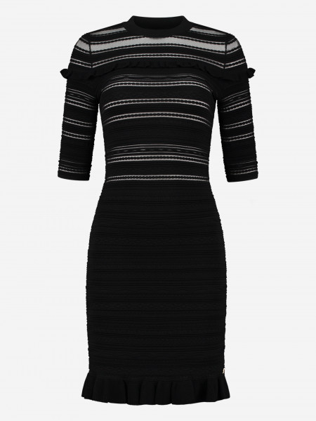 Tight ruffle dress