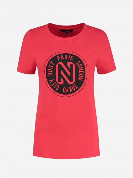 T-SHIRT WITH N ARTWORK