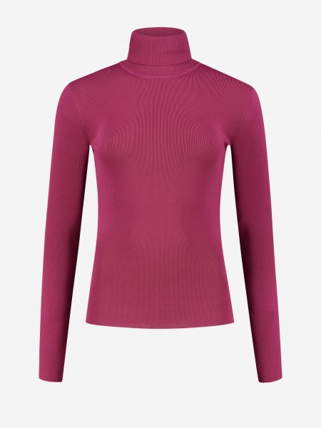 Tight turtle neck with long sleeves