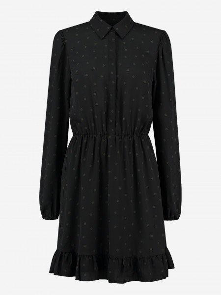 dress with small N logos