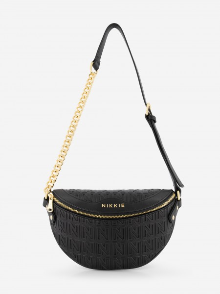 FANNY PACK WITH GOLDEN DETAILS