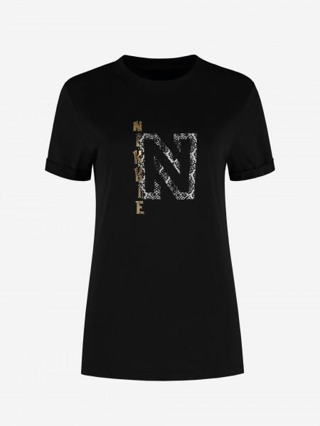 Golden Nikkie logo t-shirt