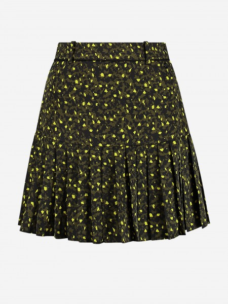 SKIRT WITH ALL OVER PRINT