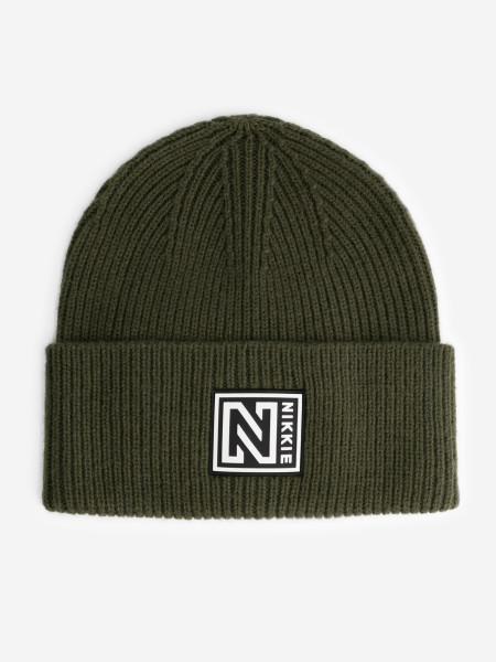 Knitted Beanie with Nikkie logo