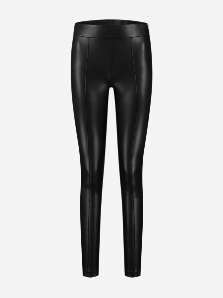 Tight vegan leather pants