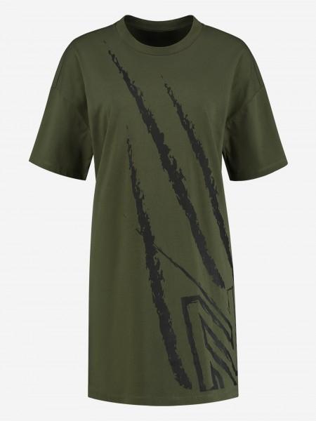 DRESS WITH ARTWORK