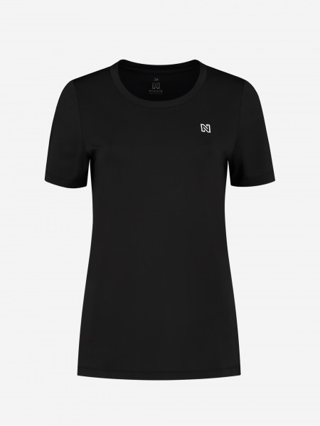T-Shirt With NIKKIE Logo