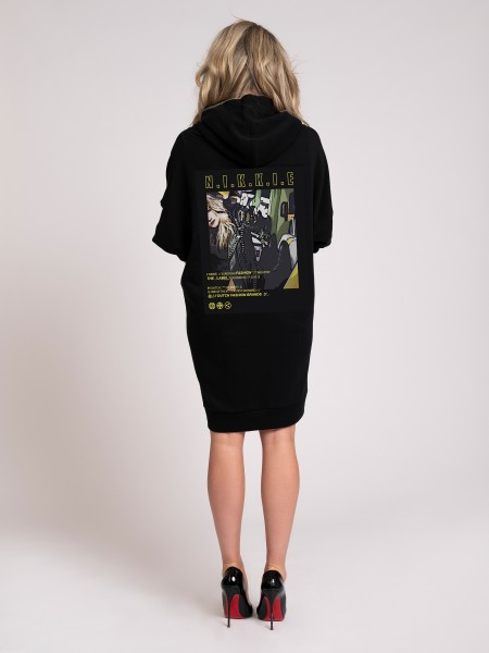 NIKKIE Collection Hoodie Dress