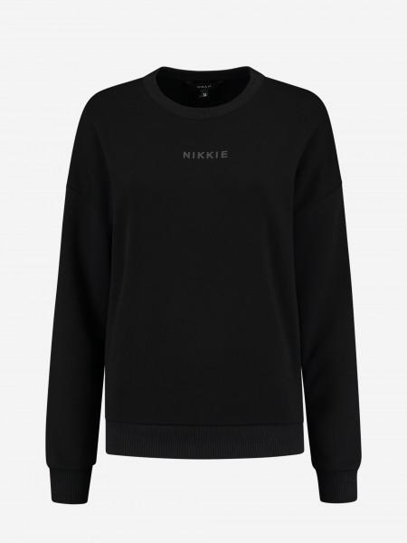 Sweater met NIKKIE logo
