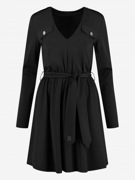 Suzy dress with v-neck