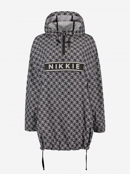 ANORAK WITH ALL OVER N PRINT