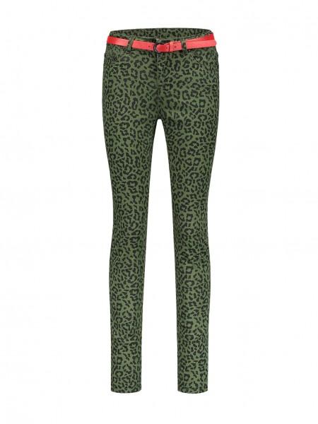 Betty Leopard Skinny Jeans