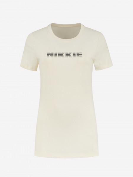 t-shirt met ombre logo