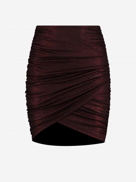 Red glitter skirt