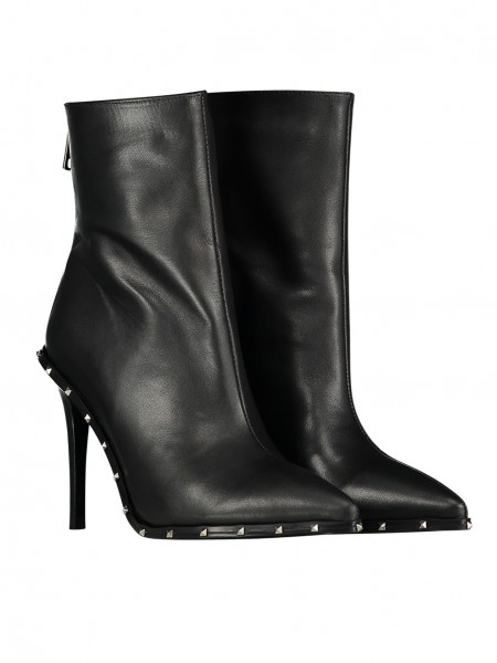 Delight Studs Ankle Boots