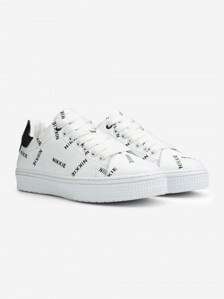 over-all logo lage sneakers