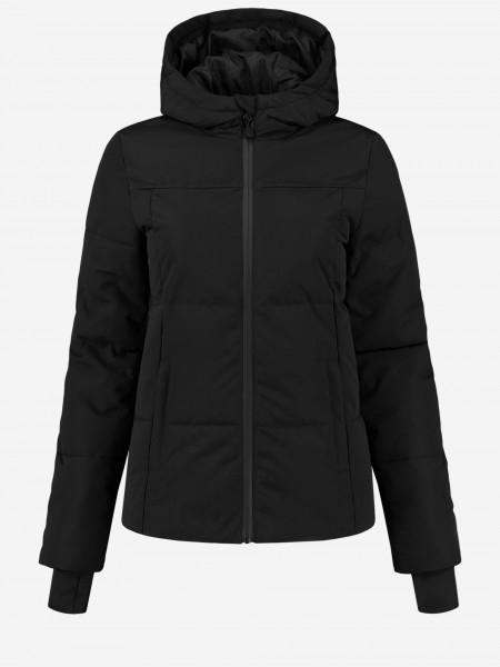 Zwarte ski jas