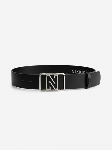 BELT WITH N BUCKLE