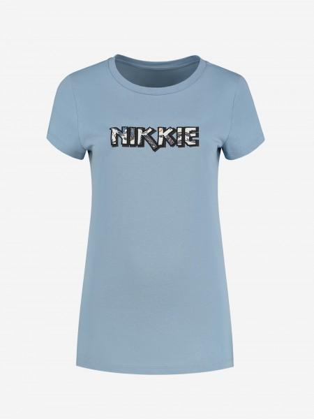 T-Shirt Met NIKKIE-Artwork
