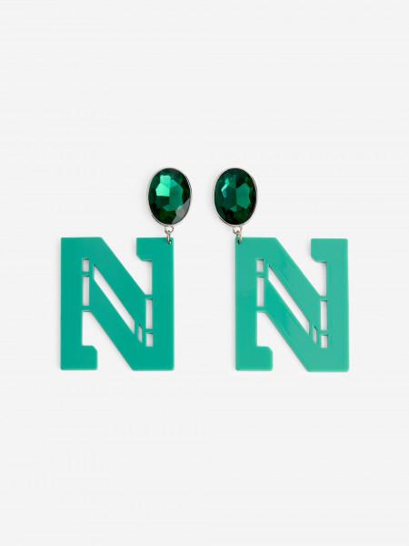 N LOGO earrings