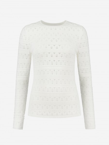 KNITTED FITTED TOP