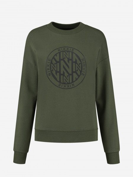 sweater with graphic artwork