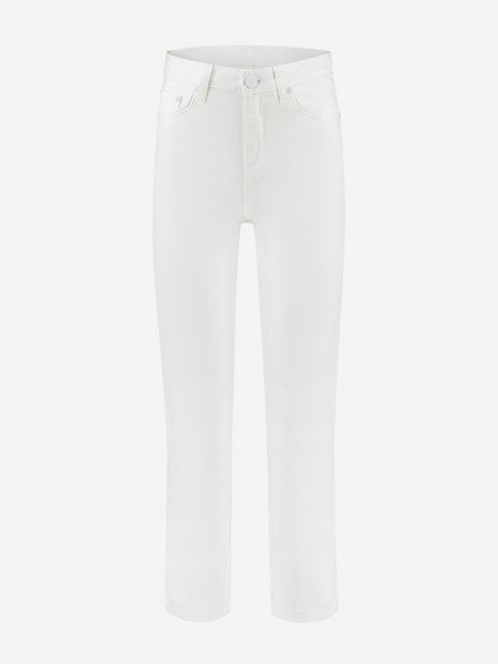 White 5 pocket jeans