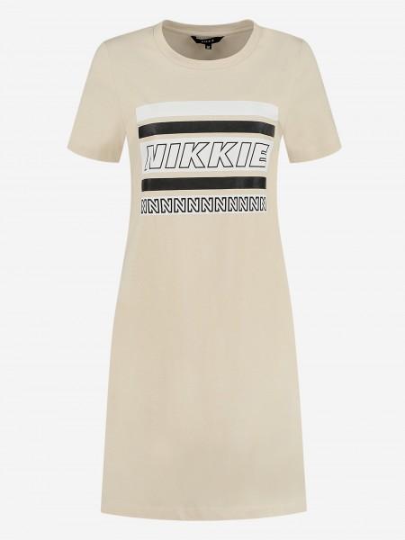 TEE DRESS MET NIKKIE-ARTWORK