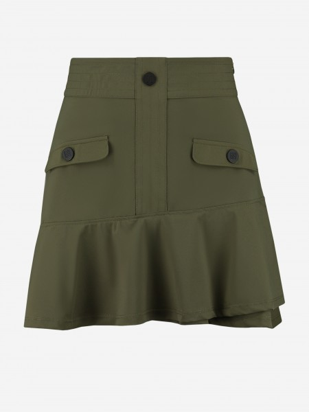 SKIRT WITH BUTTONS AND POCKETS