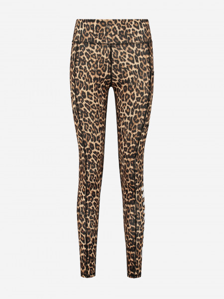 Legging with leopard print