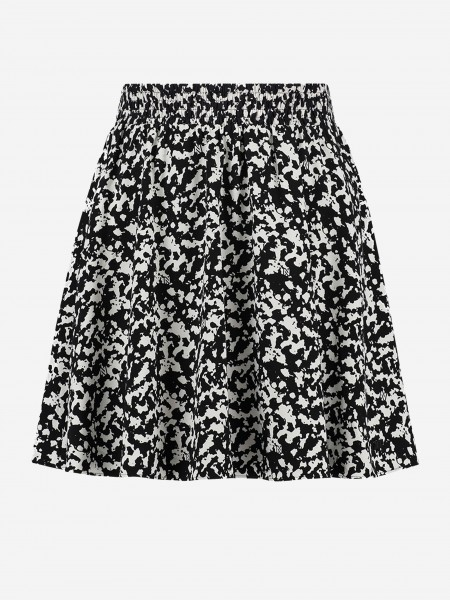 SKIRT WITH ALL-OVER PRINT