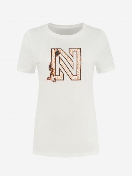 T-Shirt Met N-Logo