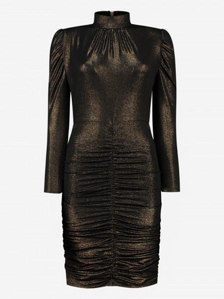 Gouden glitter jurk