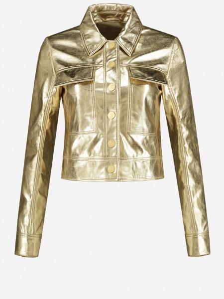 Goud glimmend jacket