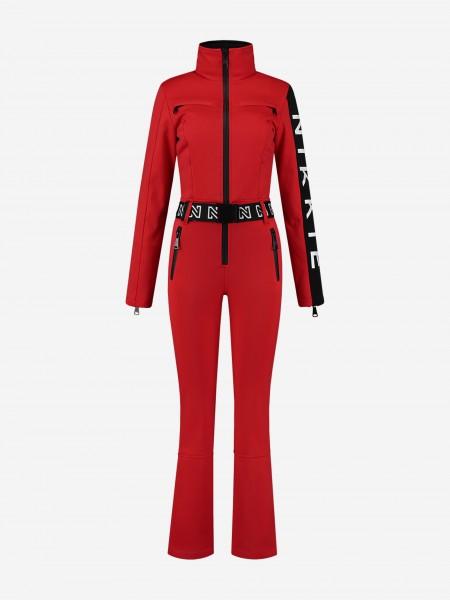 Red Ski Jumpsuit