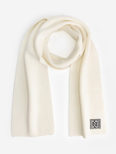 Knitted Scarf with Nikkie logo