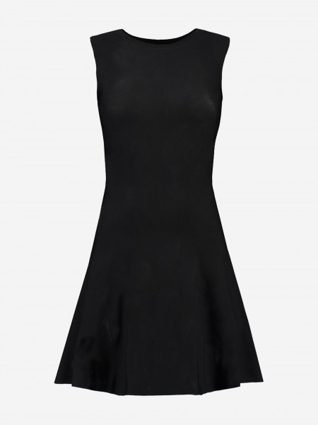 A-line dress with no sleeves