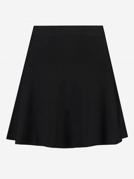 Zwart uitlopende rok