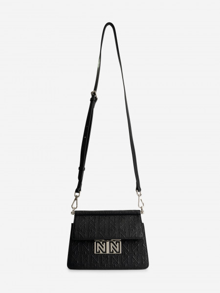 BAG WITH N STRUCTURE AND LONG STRAP