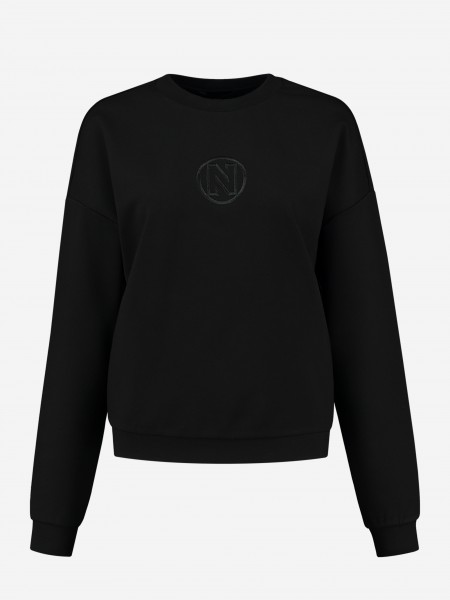 LOOSE FIT SWEATER WITH N LOGO