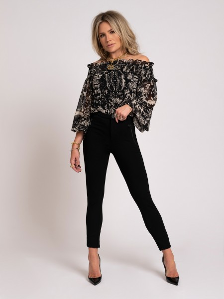 Fay-Lee Off-Shoulder Top