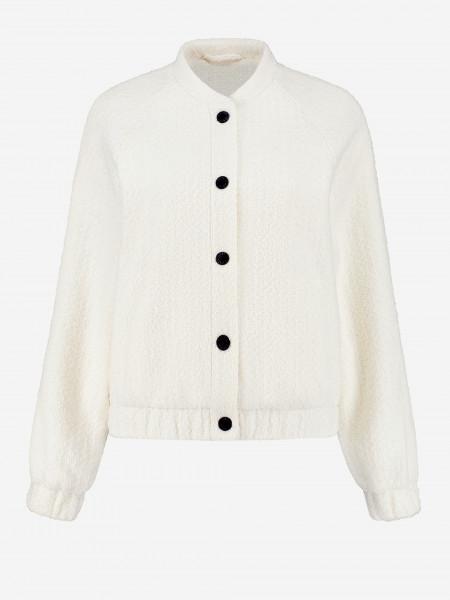 Tweed Bomber Jacket