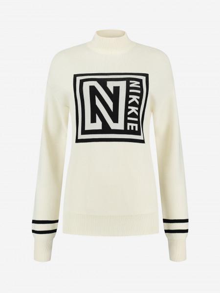 Sweater with logo artwork