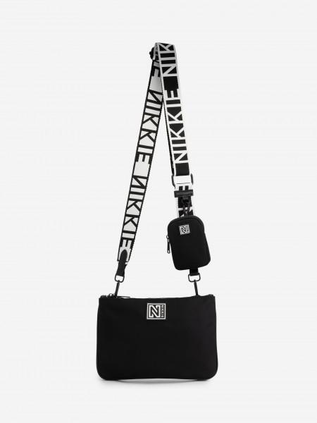 Crossbody bag with small bag