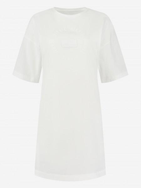 TEE DRESS MET NIKKIE-LOGOPATCH