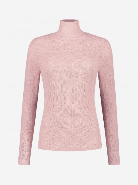top with transparent N logo embroidery